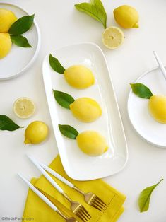Lemon Shaped Mousse Recipe - lemon & white chocolate mousse shaped in a gorgeous lemon shell, perfect and delicious for a summer party! Easy Summer Desserts, Desserts To Make, Lemon Desserts, Lemon Recipes, No Bake Desserts, Mini Desserts, Healthy Recipes, Grolet, Lemon Party