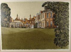 """The Towner Gallery, Eastbourne"" by Robert Tavener"