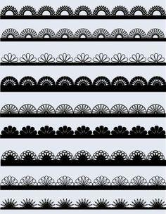 lace trim clip art - Google Search