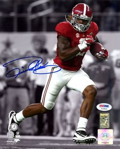 6e273440f Derrick Henry Autographed 8x10 Photo Alabama Crimson Tide PSA DNA ITP Stock   113485