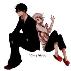Amon and Juuzou being lazy as .... , go do you the work DUH - Tokyo Ghoul