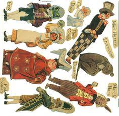 Alice in Wonderland - 1933 http://www.pinterest.com/violethoarder/vintage-paper-dolls/