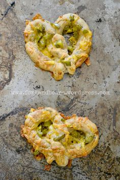 Cheezy Jalapeno Soft Pretzels (gluten, egg, and dairy-free)