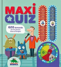 Didactical quiz book for children and family