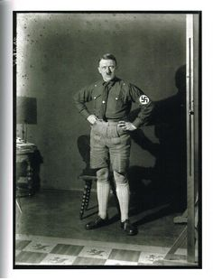 Adolph Hitler in shorts - 1920's