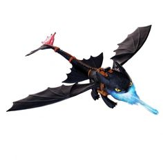 "DreamWorks Dragons Defenders of Berk - Giant Fire Breathing Toothless - Spin Master - Toys ""R"" Us Toothless Toy, Toothless Night Fury, Night Fury Dragon, Toothless Dragon, Pet Dragon, Dragon Ball, Dreamworks Dragons, Toys R Us, Ri Happy"