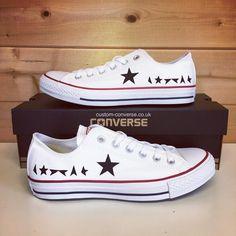 f344db43c8b0d3 Bowie Black Star Converse Custom Converse