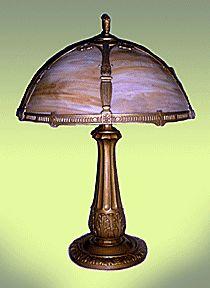 Tiffany Lotus table lamp