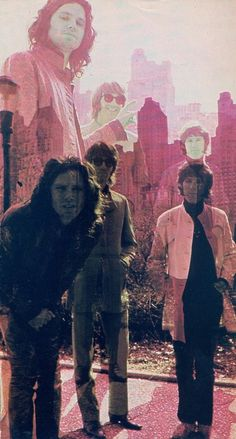 People are strange when your a stranger. The Doors.