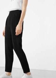 50 Pantalon à pinces - Pantalons pour Femme   MANGO France