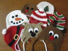 Christmas Crochet Hats