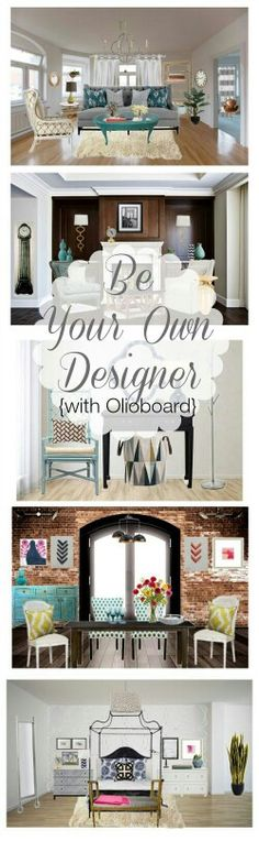 Housing & Interior Design Class: Be Your Own Designer {with Olioboard}!