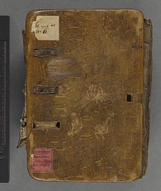 15th Century Wooden book - National Library of Sweden