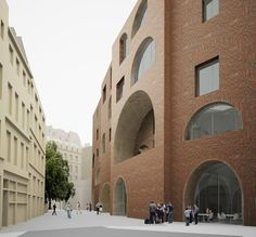LSE – The New St. Philips Centre  DAVID CHIPPERFIELD ARCHITECTS