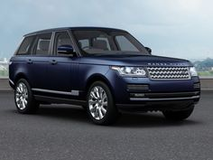 WORK - Navy Blue Long Wheel Base Range Rover. This £182,000 car is used by Harry on Engagements around the UK