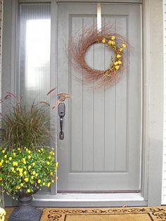 """Search Results for """"label/Outdoors"""" House Front Door, Front Door Decor, Front Porch, Kick Plate, Doorway, Wood Doors, Door Knobs, Shutters, Contemporary"""
