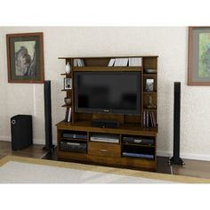 Sovana Resort Cherry Home Entertainment Center for TVs up to 42""