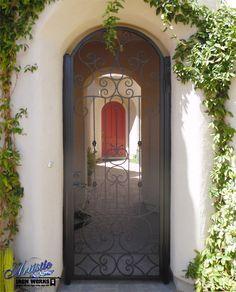 Monaco - Wrought Iron Entry Gate - Model: EW0543