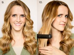 Recently I've had a lot of requests for a step-by-step on these curls - These curls are done with a flat iron. A huge part of getti...