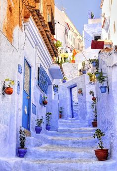 The Most Colorful Places in the World - Chefchaouen, Morocco