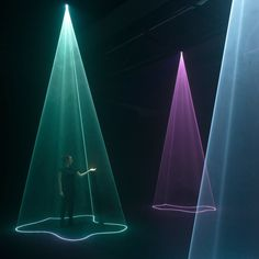Studio Nick Verstand has created an immersive audiovisual installation that reinterprets people's emotions as pulsing light compositions