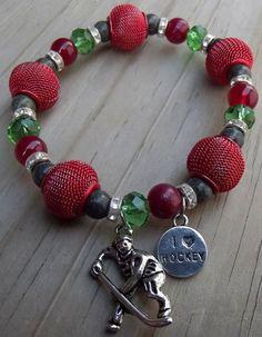 Minnesota Wild Colors- Hockey Bracelet