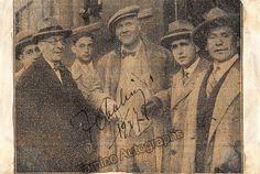 Chaliapin Fedor - Signed Half-Tone Photo 1927