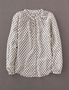Paris Blouse - love this with floral skirt