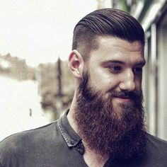 Wake Up and Smell the Barbicide • menshairstyletrends: Beard Styles 2015: Long with...