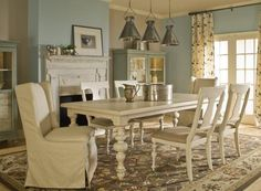 This is a perfect color combo inspiration picture for my dining room/art room/office.
