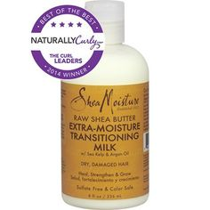 SheaMoisture Raw Shea Butter Extra-Moisture Transitioning Milk - CurlMart