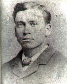 Almanzo Wilder in his 20s