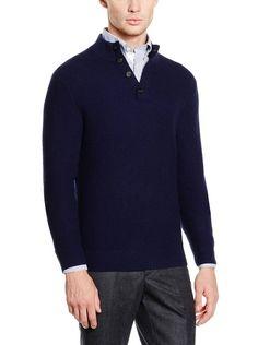 Hackett London Pullover Lana Jaqu Button Mock su Amazon BuyVIP