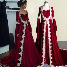 Dress Robes, Dress Outfits, Dress Up, Fashion Outfits, Women's Fashion, Muslim Dress, Evening Dresses, Formal Dresses, Medieval Dress