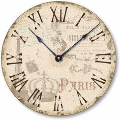 clock face free printable