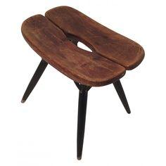 Tabouret Pirkka en bois, Ilmari TAPIOVAARA - 1950 Conservation, Design, Furniture, Stools, Home Decor, Interiors, Gallery, Beauty, Scandinavian