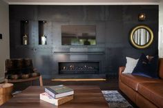 The Penthouse by Eichardt's in Queenstown New Zealand. Wall Unit Designs, New Zealand Landscape, Vogue Living, Stay The Night, Pent House, Architectural Digest, Luxury Living, Living Spaces, Homes