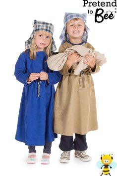 Mary & Joseph Christmas Nativity Pretend to Bee Costumes 3-5 years 5-7 years