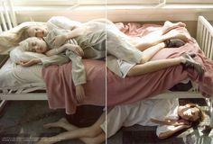 "Rag Pony: Vogue Italia July 2007 ""Supermodels Enter Rehab"" by Steven Meisel"