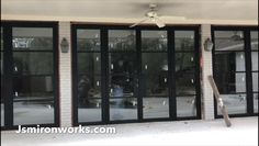 Check out here french doors with screens Wood Garage Doors, Sliding Patio Doors, Sliding Glass Door, Barn Doors, Aluminium Sliding Doors, Aluminium Windows, French Doors With Screens, Steel Doors And Windows, French Door Curtains