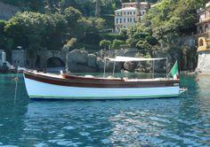 Splendida corvetta utilizzata per il taxi boat da Santa Margherita Ligure a Portofino,San Fruttuoso e Camogli