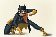 Pinup Arena • kenimation: I had to do a Babs Tarr Batgirl!