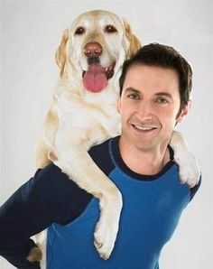 Famous people (Richard Armitage) + Dogs