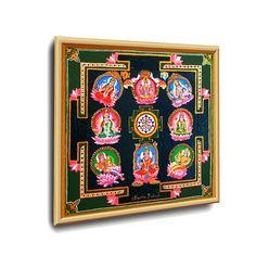 #ASTA_LAXMI YANTRA #ENERGETISCHE_Kunst von #Art_Heil_Studio #Dr_Mariia_Bohach (#MariRich) #kunst #malerei #regenbogen #jubilaum #muttertag #mandala #yantra #geschenk #geburtstag #meditation #art_therapie Meditation, Mandala, Etsy, Vintage, Studio, Frame, Home Decor, Art Therapy, Rain Bow