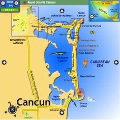 map of cancun mexico great beaches friendly people wonderful hotels memories with family and friends to last a lifetime