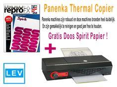 voor je website en instagram Panenka Thermal Copier + Gratis Doos Spirit Papier !!!