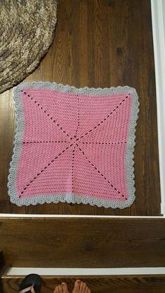 Starbust baby blanket #crochet