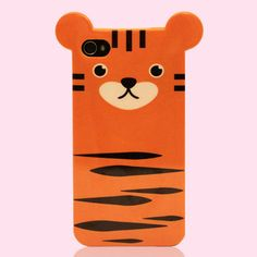 Meet the Siberian Tiger, also known as the Panthera Tigris Altaica. Due to forest fires and poaching by humans there are only 450 of them left in far-eastern Russia, but now you can help protect this noble feline and your phone too! This skinny, lightweight, super-cute Tiger Case provides full protection for your Apple iPhone 4 or 4S with access to all ports, and best of all, 10% of the net profits go to supporting endangered species the world over! $20