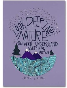 Trademark Art Trademark Fine Art Albert Einstein Nature Canvas Art by Leah Flores inspiration desenho Image in QUOTES collection by MICKEY on We Heart It Yoga Quotes, Me Quotes, Lyric Quotes, People Quotes, Quotes On Art, Mature Quotes, Namaste Quotes, Namaste Art, Quotes Images