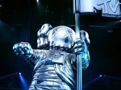VMA's KAWS 60-Foot Moonman: How'd They Do That? | MTV Video Music Awards